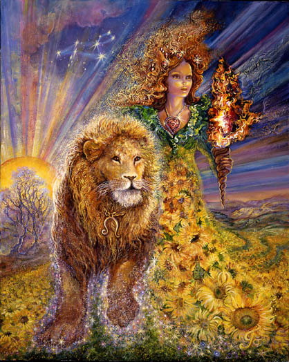 josephine wall painting lion