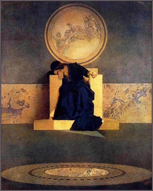 Maxfield Parrish, The Young King of the Black Isles, 1906