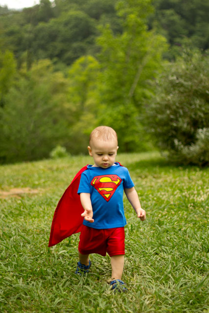 Superman-Costume-for-a-Toddler-by-The-Bearfoot-Baker