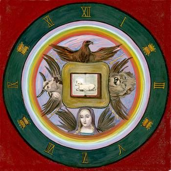 2-apocalypse-seal-tetramorph-four-living-creatures-the-group-soul-from-the-book-art-inspired-by-rudolf-steiner